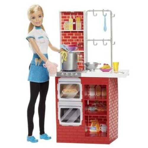 Barbie Spaghetti Chef Doll & Playset