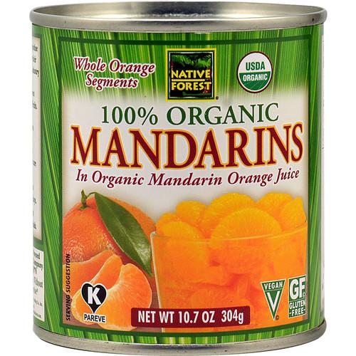 Native Forest Organic Mandarin Oranges in Mandarin Orange Juice -- 10.7 oz