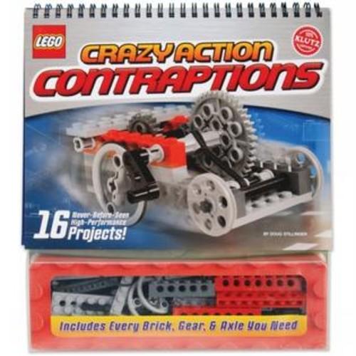 Klutz Press K434151 Lego Crazy Action Contraptions Book Kit