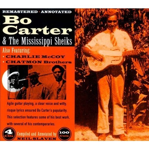 Bo Carter & the Mississippi Sheiks [CD]