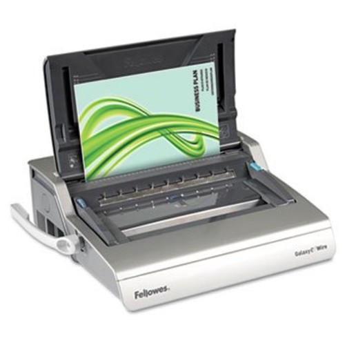 Fellowes Galaxy Electric Binding System, 130 Sheets, 17-3/4w x 19-11/16d x 6-1/2h, Gray