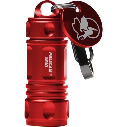 PELICAN - ProGear 16 Lumen LED Keychain Flashlight - Red