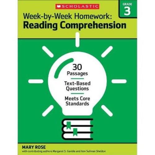 Week-by-Week Homework Reading Comprehension Grade 3 (Paperback)