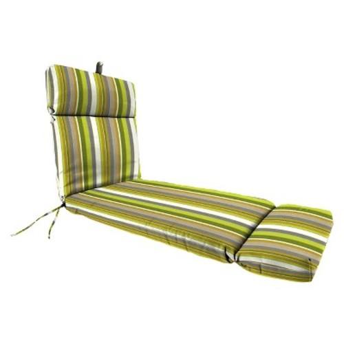 Jordan French Edge Chaise Lounge Cushion - Lime Zest