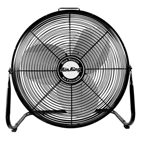 Air King 9214 14-Inch Pivoting Floor Fan [Black, 14 Inches]
