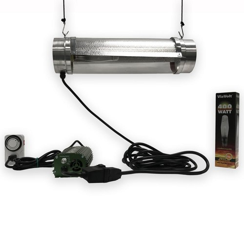 ViaVolt 400-Watt Air Cooled Cylinder Grow Lighting System
