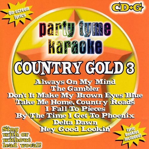 Party Tyme Karaoke: Country Gold, Vol. 3 [CD]