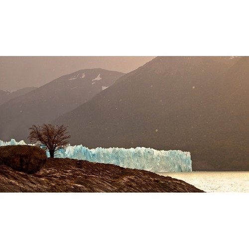 Ice Glacier Photograph Art Print