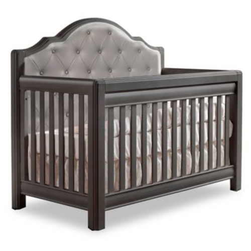 Pali Cristallo Royal 4-in-1 Convertible Crib in Granite