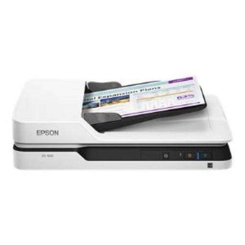 Epson DS-1630 - Document scanner - Duplex - Legal - 1200 dpi x 1200 dpi - up to 25 ppm (mono) / up to 25 ppm (color) - ADF ( 50 sheets ) - up to 1500 scans per day - USB 3.0