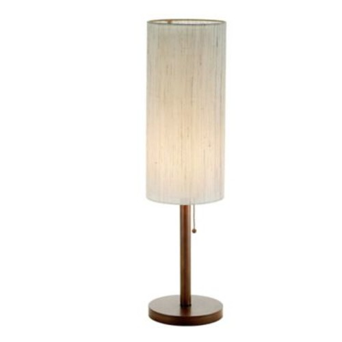 Adesso Hamptons Eucalyptus Table Lamp in Walnut