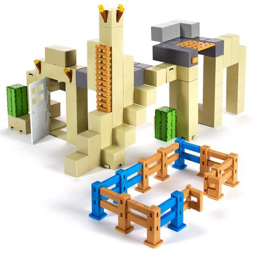 Minecraft Sandstone Settlement Playset