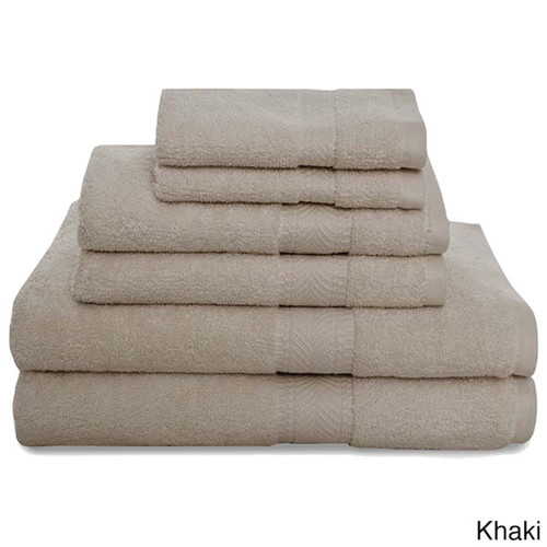 Air Lite Montgomery and 2-ply Loops 6-piece Luxury Towel Set