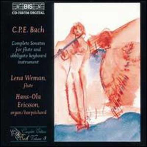 Bach: Flute Sonatas By Lena Weman (Audio CD)