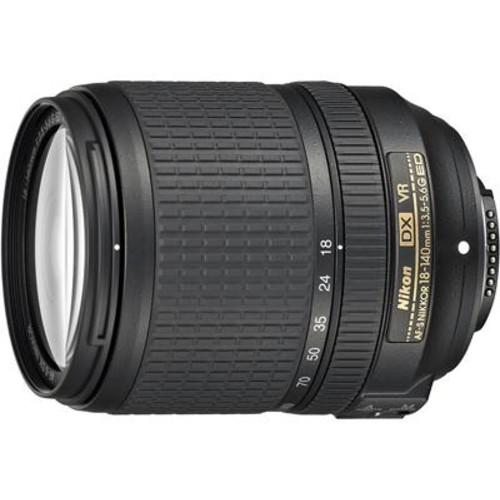 Nikon AF-S DX Nikkor 18-140mm f/3.5-5.6G ED VR Zoom lens for DX format Nikon DSLR cameras