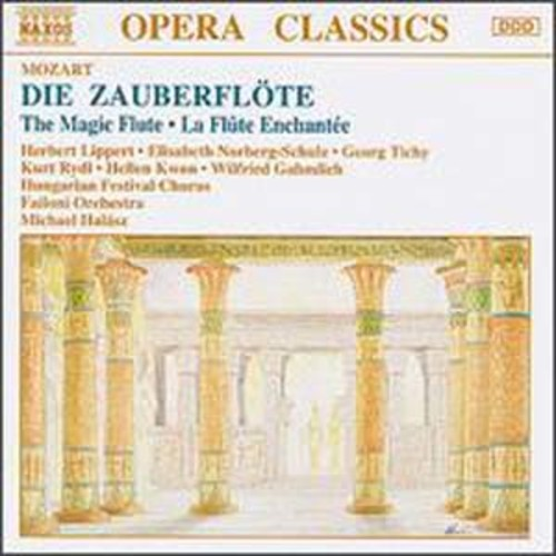 Mozart: Die Zauberflte Michael Halsz Audio Compact Disc