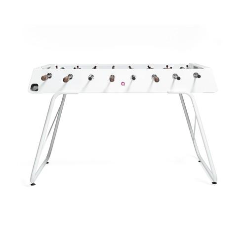 RS Barcelona Steel Foosball Table White