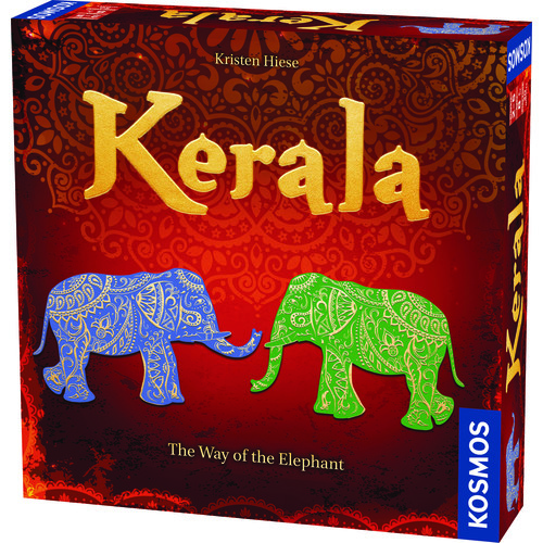 Thames & Kosmos Kerala Elephant Strategy Game