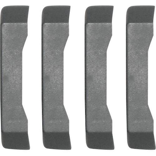 Gladiator - GearTrack Channel End Cap (4-Pack) - Smoke