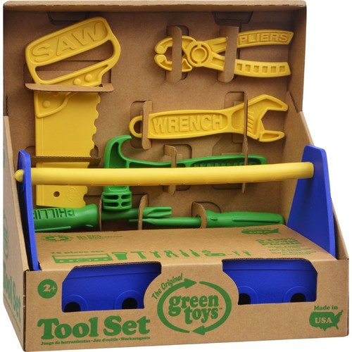 Green Toys Tool Set, Blue [Open Box]