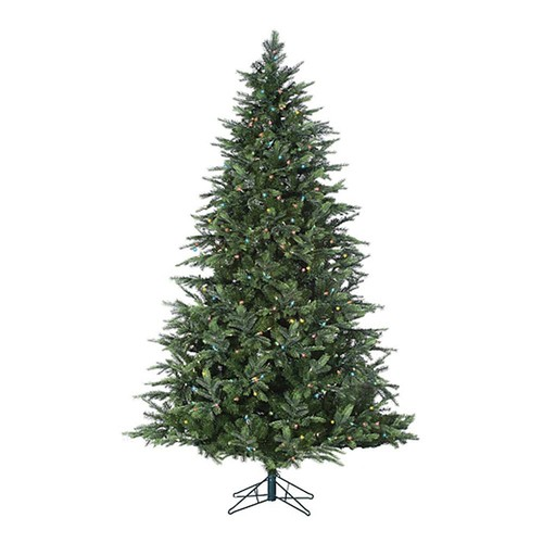 Sterling 7-ft. Pre-Lit Multicolored LED Fairmont Pine Artificial Christmas Tree - Indoor