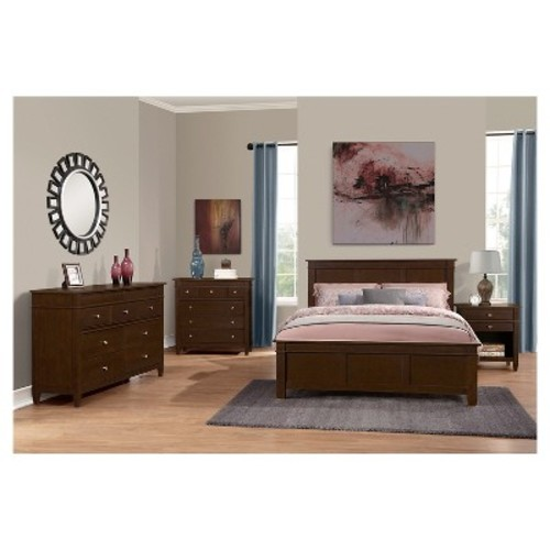 Carlton Bedroom Dresser Tobacco Brown - Simpli Home