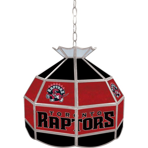 NBA(CANONICAL) Toronto Raptors 16 inch Stained Glass Tiffany Style Lamp
