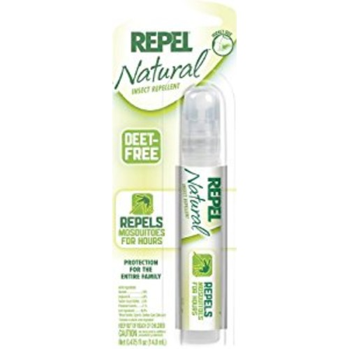REPEL Natural Insect Repellent Pen Size Pump, 0.475-oz : Mosquito Repellents : Garden & Outdoor [Pack of 1]