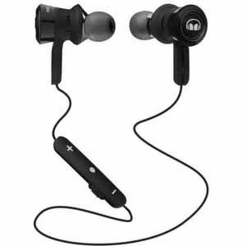 Monster ClarityHD High-Performance Wireless Earbuds- Black/Black Platinum