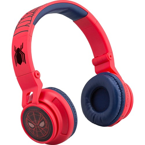eKids - Marvel Spider-Man: Homecoming Wireless Over-the-Ear Headphones - Red