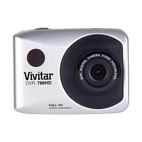 Vivitar ActionCam 12.1 Megapixel HD Digital Camera, Silver