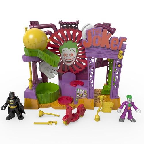 Imaginext DC Super Friends Playset - The Joker Laff Factory