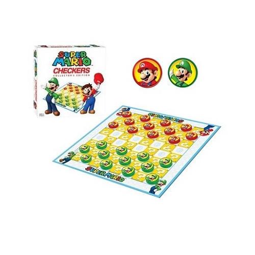 Super Mario Collector's Edition Checkers Game