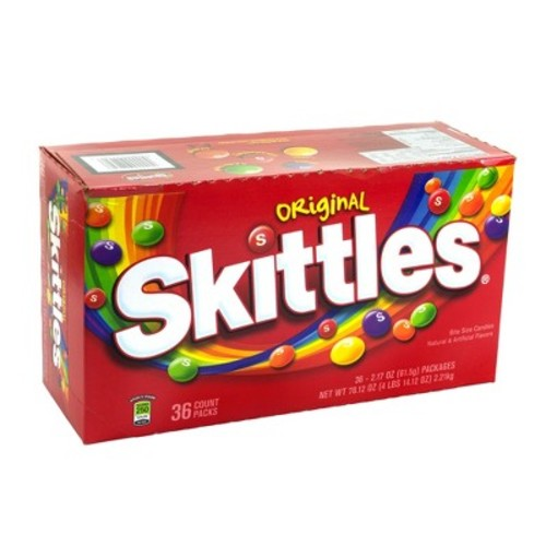 Skittles Original Bite Size Candies 2.17 oz 36 ct