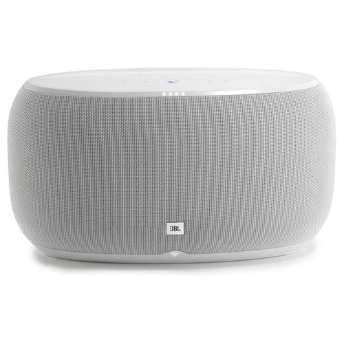JBL LINK 500 (White) Wireless powered multi-room speaker with Google Assistant, Chromecast built-in, and Bluetooth