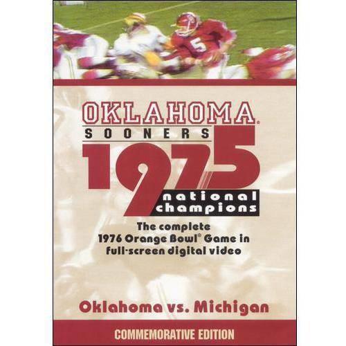 1976 Orange Bowl: Oklahoma vs. Michigan DVD