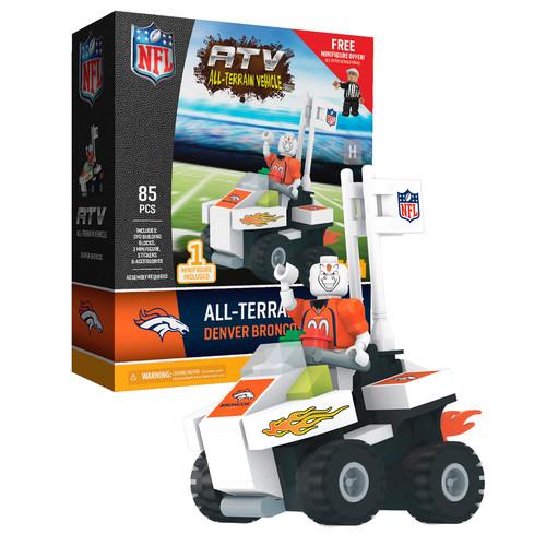 OYO Sports NFL Denver Broncos NFL 4 wheel ATV with Mascot