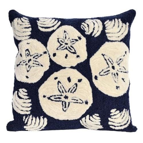 Liora Manne Shell Toss Decorative Indoor/Outdoor Pillow