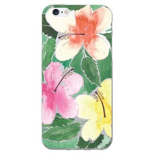 iPhone 6/6S/7/8 Case Hibiscus Trio Green - OTM Essentials