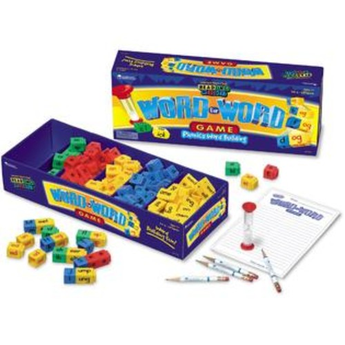 Learning Resources Reading Rods Word Phonics Game 112Pcs Multi