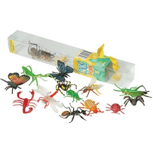 Insect Lore Plastic Bug Toys - 18 Colorful Giant Insect Figures [1]