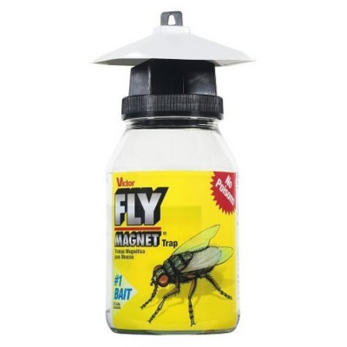 Victor Poison-Free Reusable Fly Magnet Trap Insect Killer (1-Quart) - Victor