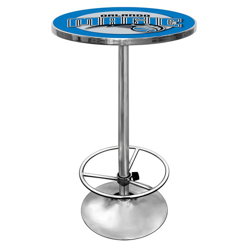 Trademark NBA Orlando Magic Chrome Pub/Bar Table