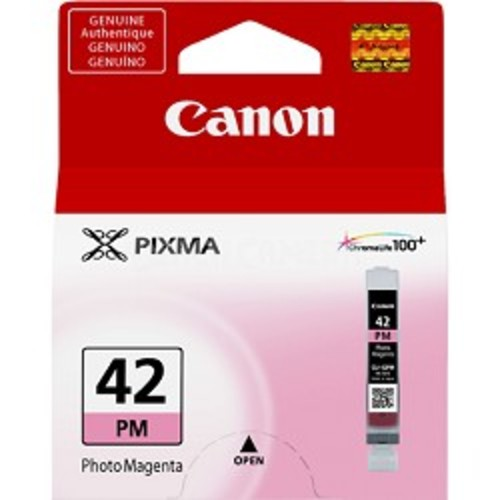 Canon CLI-42 Photo Magenta ChromaLife 100+ Individual Ink Catridge for PIXMA PRO 100