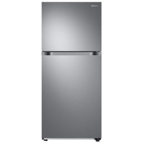 Samsung 17.6 cu. ft. Top Freezer Refrigerator with FlexZone Freezer in Stainless, Energy Star, Ice Maker