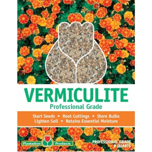 Plantation Products Professional Grade Vermiculite 8 qt. Bagged(G208)