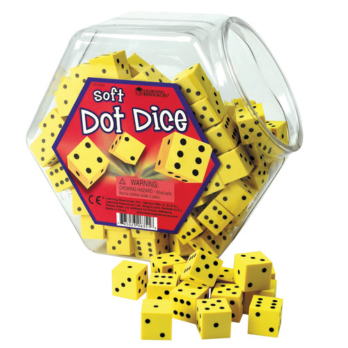 Learning Resources Hands On Soft Dot Dice