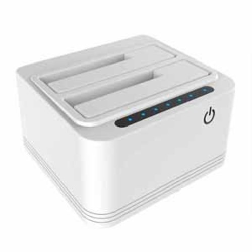 Bytecc Dual Bay USB 3.0 HDD/SSD Docking Station with Off-Line Clone Function