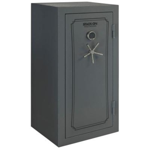 Total Defense 40-Gun Fire/Waterproof Safe with Electronic Lock and Door Storage
