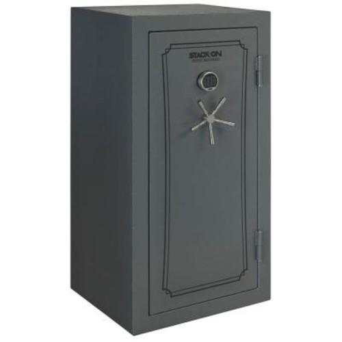 Total Defense 40-Gun Fire/Waterproof Safe with Electronic Lock and Door Storage